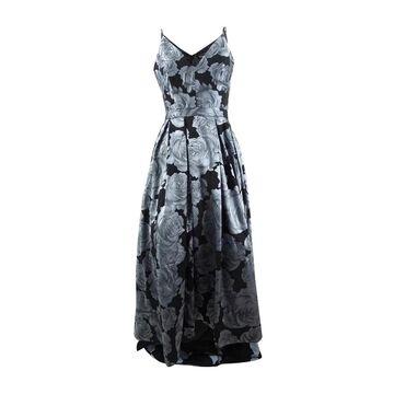 Xscape Women's Floral-Print Gown