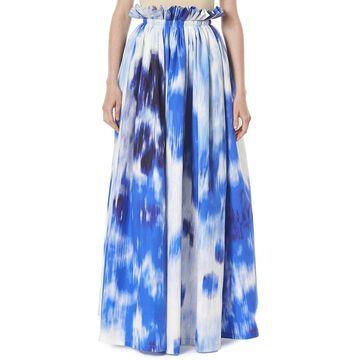 Carolina Herrera Gathered Waistband Skirt
