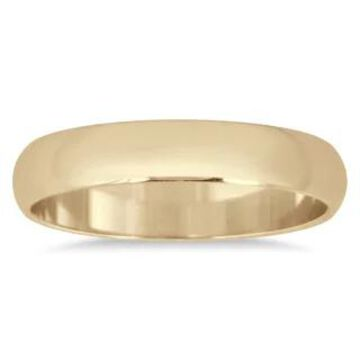 Marquee Jewels 10k Yellow Gold 3-millimeter Domed Wedding Band (6)
