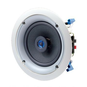 Leviton SGC65-W 6.5-Inch Two-Way In-Ceiling Loudspeaker White Speaker