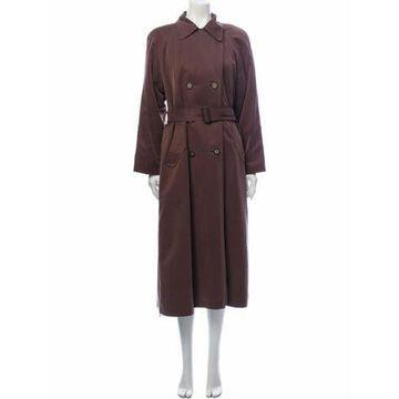 Vintage Trench Coat Brown