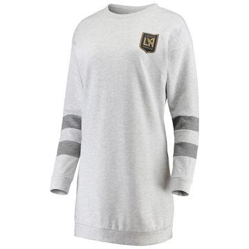 ZooZatz LAFC Women's Gray Sweatshirt Dress