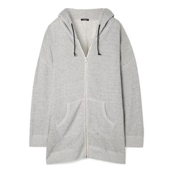R13 - Oversized Cotton-terry Hoodie - Stone