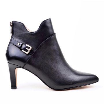 Adrienne Vittadini Shaye Leather Bootie