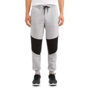 RBX Men's Quilted Knee Fleece Jogger