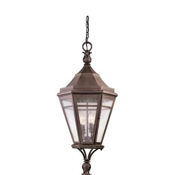 Troy Lighting Morgan Hill 4-light Natural Rust Outdoor Pendant
