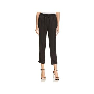 T by Alexander Wang Womens Track Pants Silk Striped - S