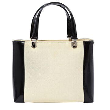 Dior Lady Dior Ecru Cloth Handbags