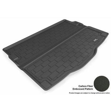 3D MAXpider 2013-2014 Hyundai Elantra GT All Weather Cargo Liner in Black with Carbon Fiber Look