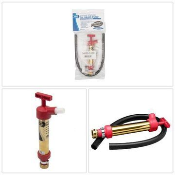 ''Oil Drain Hand Pump W/ 3/4'''' Hose Fitting''