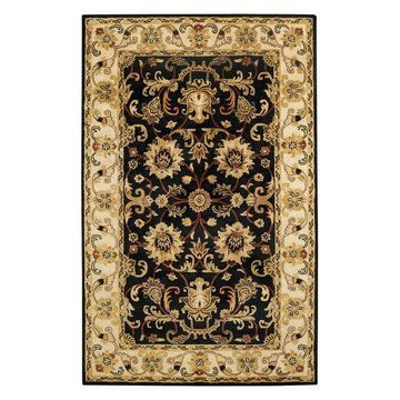Capel Guilded 5029 Rug, Onyx, 4'0
