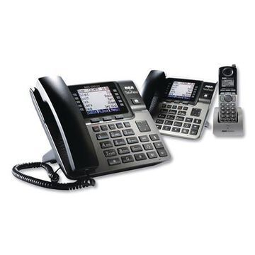 Unison 1-4 Line Wireless Phone System Bundle, w/1 Phone, 1 Handset