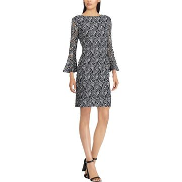 American Living Womens Floral Lace Party Dress