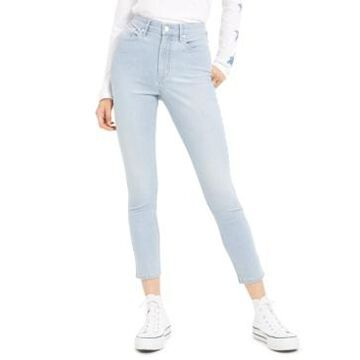 Calvin Klein Jeans High-Rise Striped Skinny Jeans