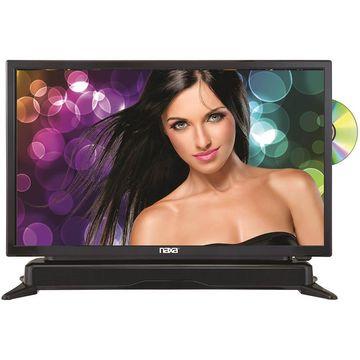 Naxa NTD2460 24 HD LED TV with Soundbar and DVD Player
