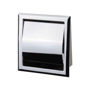 Nameeks General Hotel Chrome Steel Recessed Toilet Paper Holder Bedding