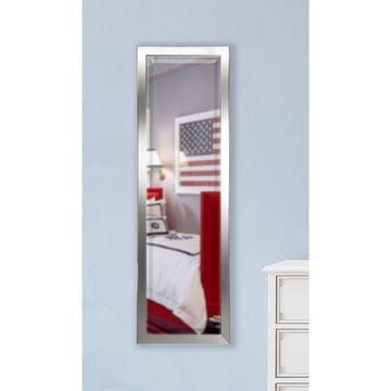American Made Rayne Minimal Silver 19.5 x 58.5-inch Slender Body Mirror - 19.5x58.5