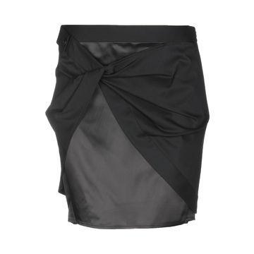 HELMUT LANG Mini skirts
