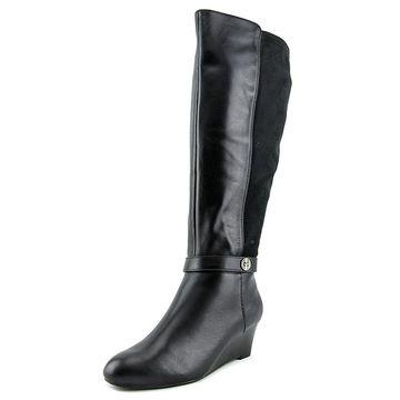 Giani Bernini Womens Catrina Almond Toe Knee High Cold Weather
