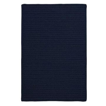 Colonial Mills Simply Home Solid Indoor Outdoor Rug, Blue, 4X6 Ft