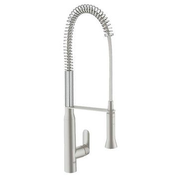 GROHE K7 Stainless Steel Single-Lever Faucet