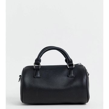 Glamorous Exclusive barrel bag with cross body strap-Black