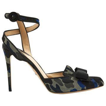 Paul Andrew \N Black Cloth Heels