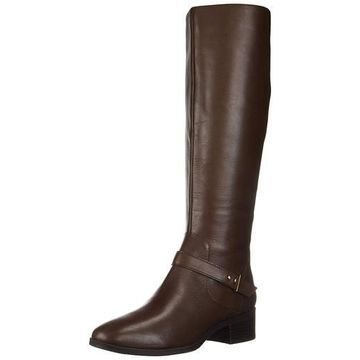 Bandolino Womens Bdbloema Leather Almond Toe Knee High