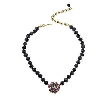 Heidi Daus Enchante Interchangeable Crystal Drop Necklace