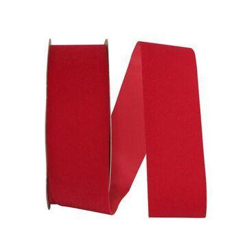 "JAM Paper Velvet Duro Domestic Ribbon in Red   1.875"" x 25yd   Michaels"