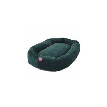 Majestic Pet Villa Collection Micro-Velvet Bagel Pet Bed