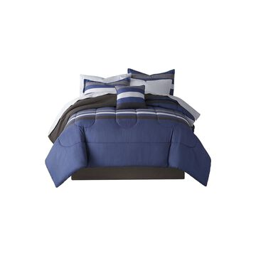Home Expressions Fred Complete Bedding Set with Sheets