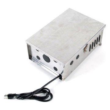 WAC Lighting 600W Magnetic Landscape Power Supply, S Steel - 9600-TRN-