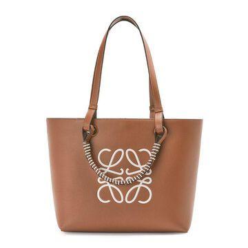 Loewe Small Leather Anagram Tote Bag