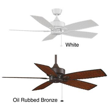 Fanimation Cancun 52-inch Wet Location Energy Star Rated Ceiling Fan