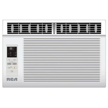 RCA 8,000 BTU Energy Star Window Air Conditioner with Remote, 300 - 399 sq ftt, Low Profile, 115 V