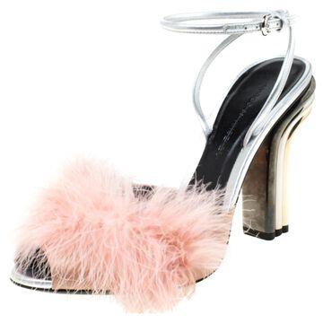 Marco De Vincenzo Pink Leather Sandals