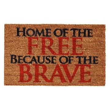 Home & More Home of the Free Doormat