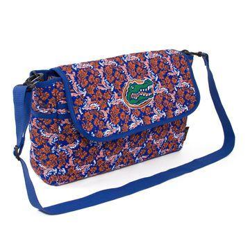 Florida Gators Women's Bloom Messenger Bag