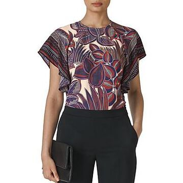 Whistles Floral-Printed Top