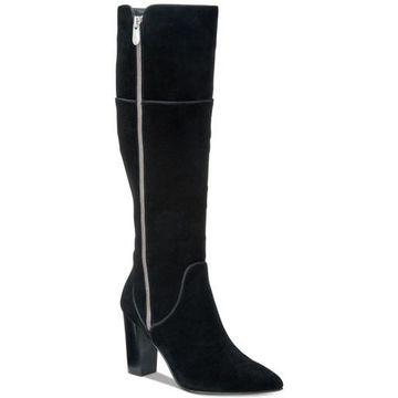 Adrienne Vittadini Womens Neeva Closed Toe Knee High Fashion