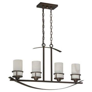 Quoizel Kyle 4-Light Chandelier in Iron