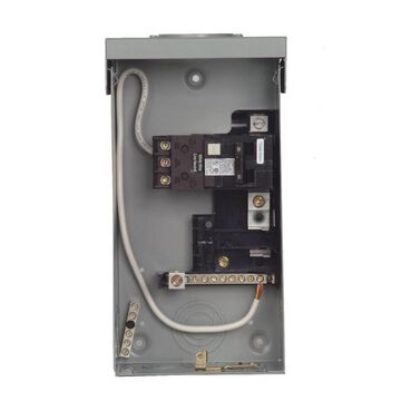 Siemens 60-Amp 2-Pole Non-Fusible Enclosed Molded Case Switch Disconnect in Gray