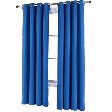 Fiesta Cotton Grommet-Top Curtain Panel