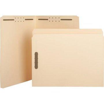 Sparco, SPRSP17211, Straight-cut Tab Fastener Folders, 50 / Box, Manila