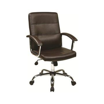 Office Star Malta Office Chair, Espresso