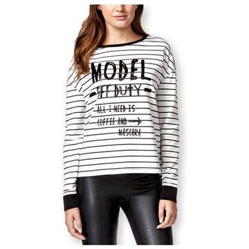 Rampage Womens Model Off Duty Sweatshirt