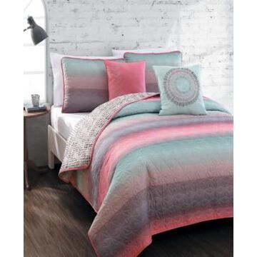 Cypress 4pc Twin Reversible Quilt