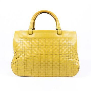 Bottega Veneta Yellow Leather Handbags