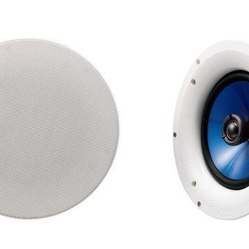 Yamaha NSIC800WH 140-Watts 2-Way RMS Speaker -- White (2 Speakers) 2 Speakers